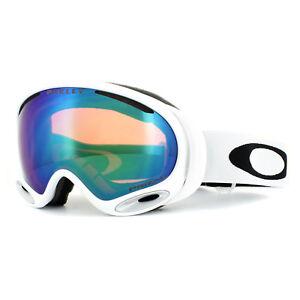 Oakley Ski Goggles A Frame 2 0 Oo7044 54 Polished White Prizm Jade Iridium 888392174130 Ebay