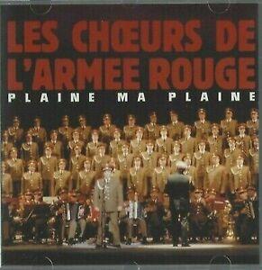 CD LES C?'URS DE L'ARMÉE ROUGE PLAINE MA PLAINE 2803