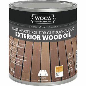 WOCA Exterior Öl, Bangkirai 0,75 Liter