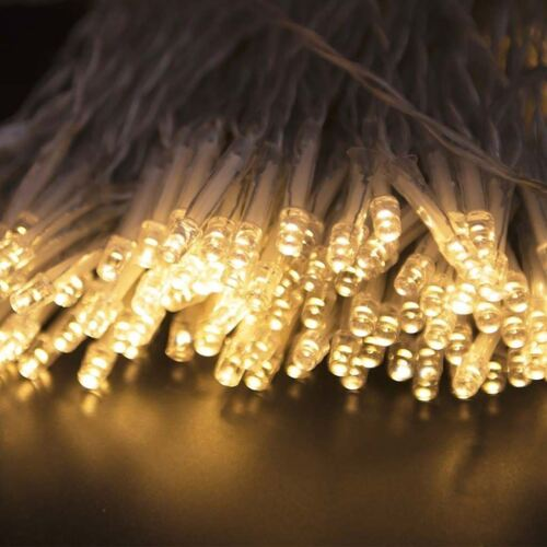 20 LED White Battery Operated Fairy Lights Wedding Birthday Party Decorations