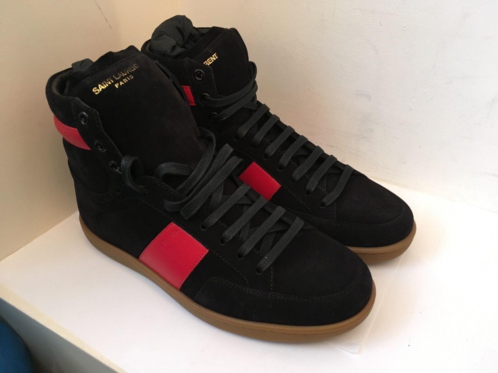 Saint Laurent Paris SL/10 Zapatillas.. (YSL, Gamuza, Js, Vandal, MJ, Lujo, De Colección)