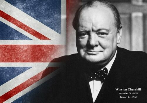 Winston Churchill 11 United Kingdom Prime Minister Poster British Icon Picture