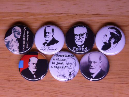 SIGMUND FREUD buttons badges pins psychiatry psychoanalysis