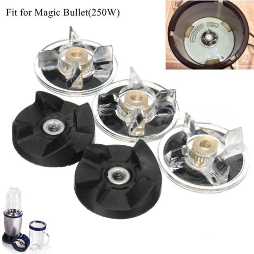 3 Plastic Gear Base /& 2 Rubber Replacement For Magic Bullet Spare Parts uk