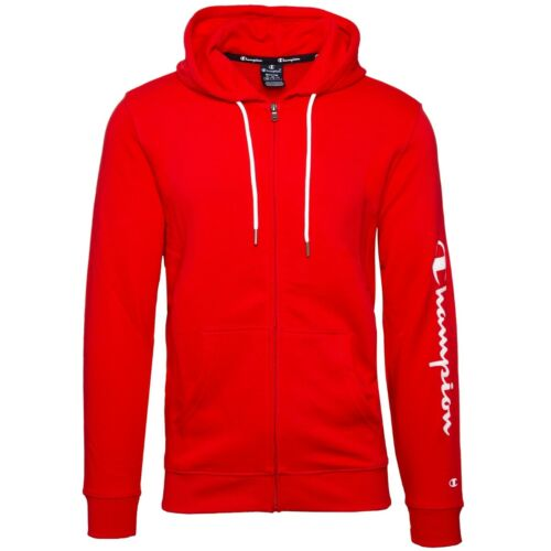 Champion Hooded Full Zip Men Sweatjacke Kapuzen Jacke Hoodie Sweatshirt 214139