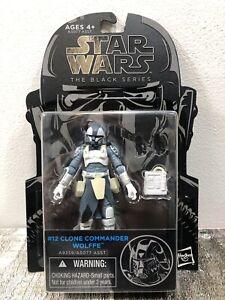 Star Wars The Black Series #12 CLONE COMMANDER WOLFE 3.75 inch BRAND NEW LEGIT