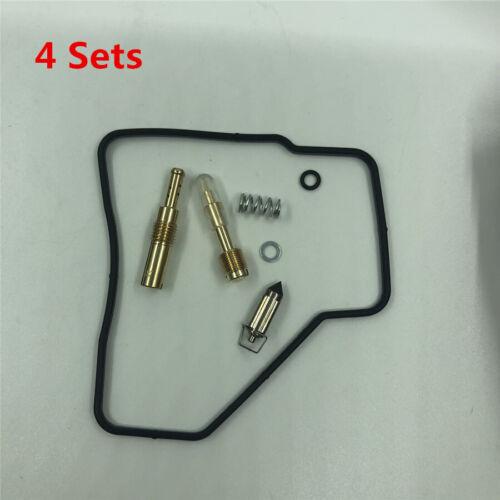 4 Sätze Vergaser Reparatursatz für Honda Interceptor 500 VF500F V30 Magna VF500C