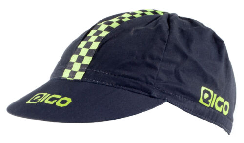 New EIGO Cycle Cap In Black/Green Free P&P Petten, helmen, hoofdbanden Sport en vakantie