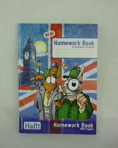 Häfft-Verlag Homework Book 100/% English Hausaufgabenheft A5 1702-9