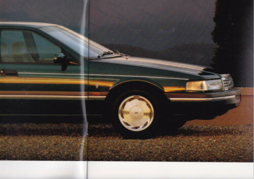 1991 FORD NC FAIRLANE Prestige Brochure Colour Chart /& Spec Sheet