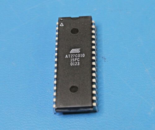 ATMEL AT27C010-15PC 1Mb DIP-32 New QTY-5 128Kx8 Parallel OTP EPROM IC 150nS