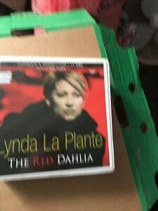 Lynda-La-Plante-The-Red-Dahlia-Unabridged-audiobook-on-CD