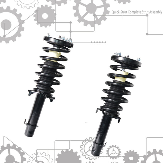 Suspension Strut And Coil Spring Fits 2009-2014 Acura TL