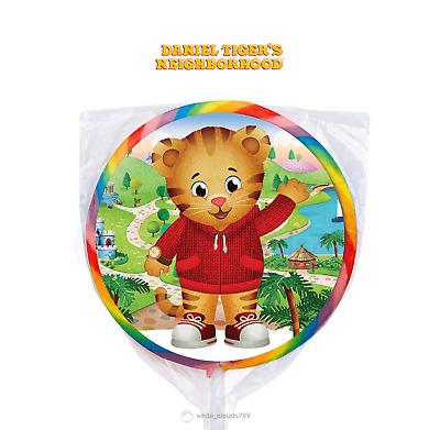 24 PBS Daniel Tiger/'s Neighborhood Stickers Labels Bag Lollipop Party Favors