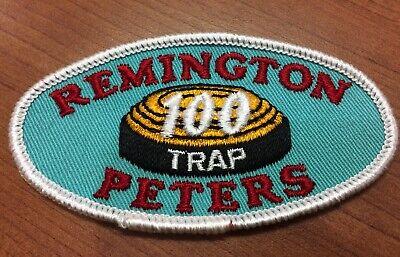 Rare REMINGTON PETERS 150 TRAP Patch Remington Vintage Embroidered