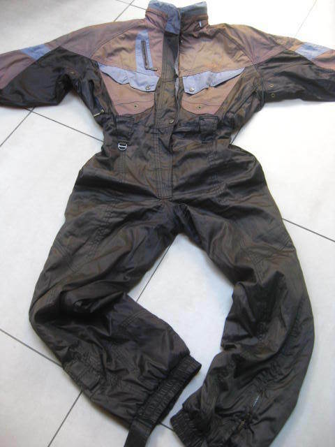 NEVICA virage SKI SUIT all in one size ladies mens med RECCO retro