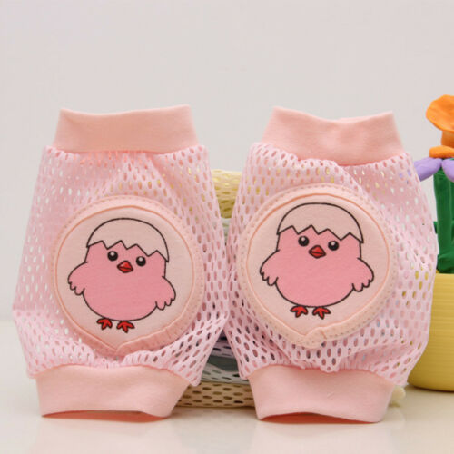 Baby Sponge Mesh Knee Pads for Crawling Toddler Knee Protector Leg #B5