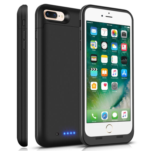 separation shoes 5b9e6 ef098 External Smart Battery Case Power Charge Cover for iphone 7 plus 7000mAh