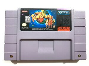 The-Flintstones-The-Movie-SUPER-NINTENDO-SNES-Game-Tested-Working-amp-Authentic