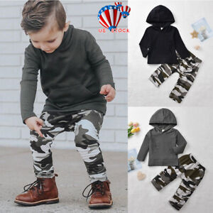 Infant-Kids-Baby-Boys-Winter-Clothes-Hoodie-Tops-Camo-Pants-Outfit-Set-Tracksuit