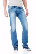 NWT DIESEL SAFADO WASH 0830W Faded Regular Slim-Straight Jeans W27 L32