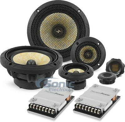 "Precision Power PPI P65c3 250W RMS 6.5"" 3-Way Component Car Speakers System"