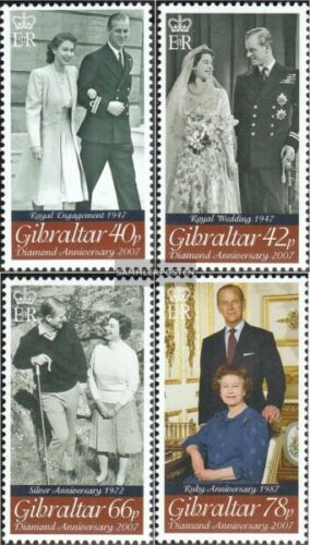 Gibraltar 11911194 mint never hinged mnh 2007 Queen Elizabeth II