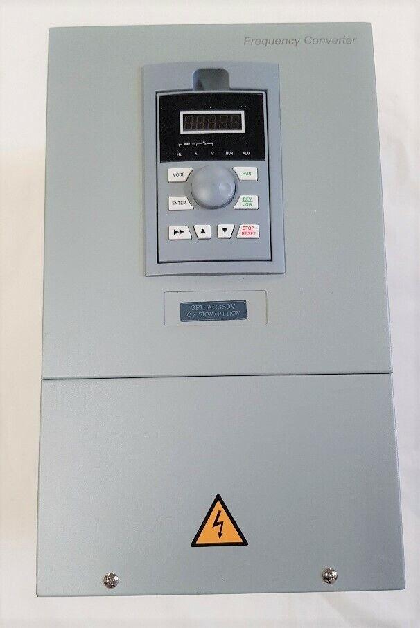 3 phase digital converter 11kw 15hp, input 240 volt 1 phase output 415 3 phase