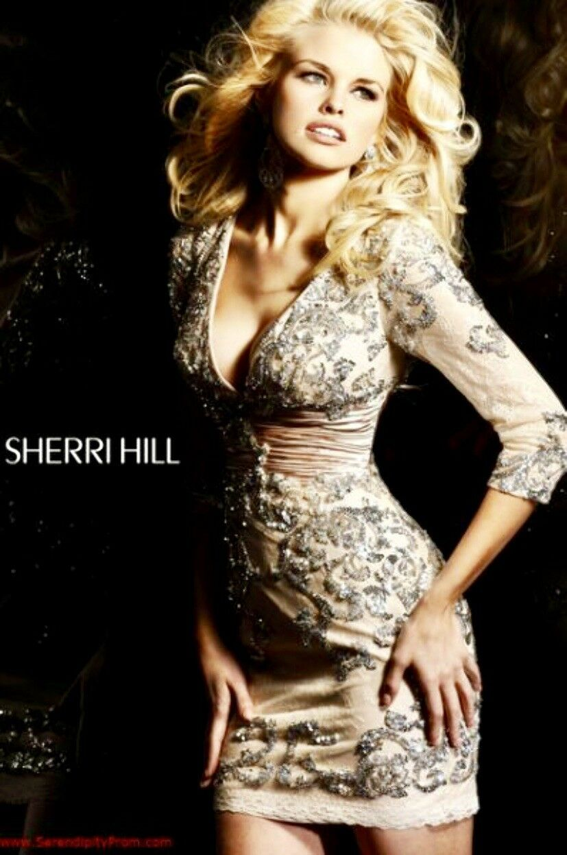 Sherri Hill Designer Dress - UK Size 10 Prom, Cruise, Mother Of The Bride