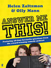 Answer Me This by Olly Mann, Helen Zaltzman (Paperback, 2010)