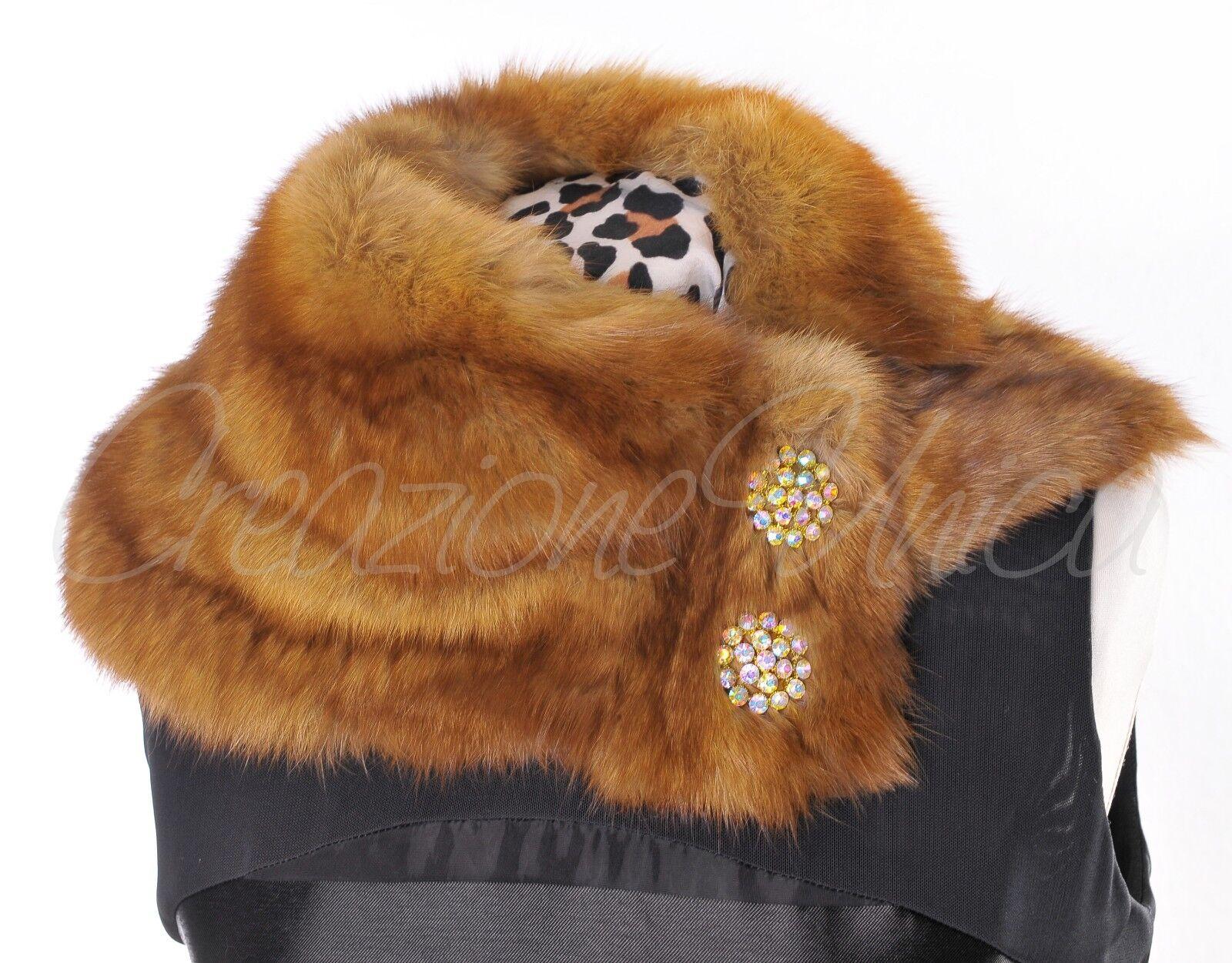 Luxus Pelz Pelz Pelz Schal Zobel Sable fur scarf pelliccia zibellino sciarpa Piel zibeline 7a1e1e