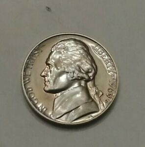 Details about 1969-S PROOF #1 JEFFERSON NICKEL Coin Excellent condition  (see photos)