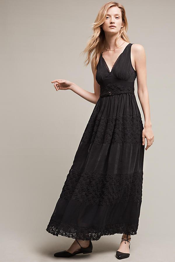 NWT Anthropologie Tulie Beaded Maxi Dress Dress, by Floreat - Größe 6