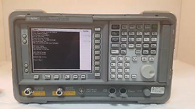 Agilent E4408b Esa-l Basic Spectrum Analyzer 9 Khz To 26.5 Ghz Loaded With Opt Strengthening Waist And Sinews