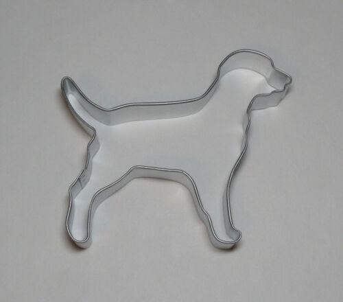 "4/"" Lab Labrador Retriever Dalmatian Cookie Cutter Tin Steel Rescue Animal Dog"
