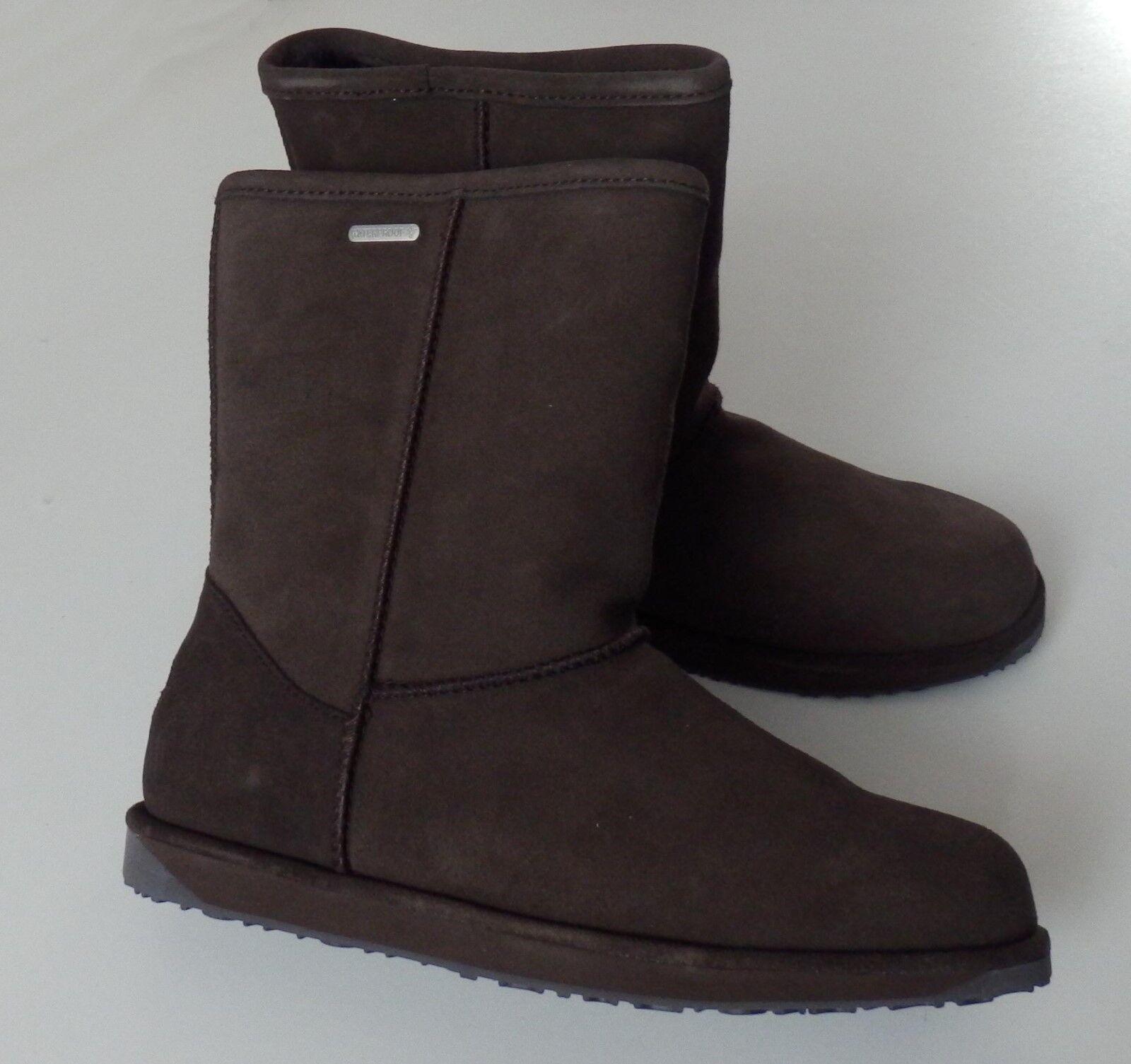 EMU AUSTRALIA Stiefel PATERSON LO W10771 Boot Stiefel AUSTRALIA Lammfell Waterproof Gr. 37 neu 8a3357
