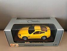 Ferrari 550 Maranello scale 1:43 Maisto NEW in Box !!