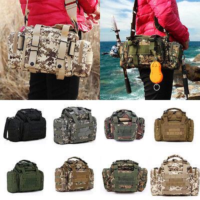 Outdoor Sports Fishing Tackle Bag Waterproof Outdoor Waist Rucksacks Carry Case