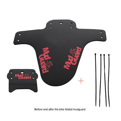 1 Set Mountain MTB Road Bike Cycling Bicycle Fenders Front Rear Mudguard Fender