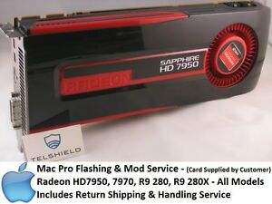 Details about Mac Pro Flashing & Mod service- HD7950, 7970, R9 280, R9 280X  - ALL MAKES&MODELS