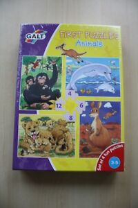 Galt-Toys-First-Puzzles-Set-of-4-Animal-Jigsaw-Puzzles
