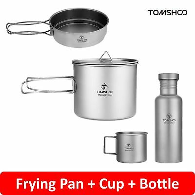 Stainless Steel Portable Outdoor Windproof Firewood Stove Pot Cookware Set