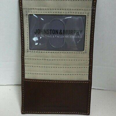 Murphy Visa Card >> Johnston Murphy Credit Card Id Case Ebay
