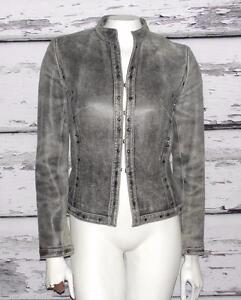 Beklædt Blazer Metal Studs ~ Leather Studio xs 2 ~ Jacket Siena 0 Soft Sjælden XxwEa8qYw