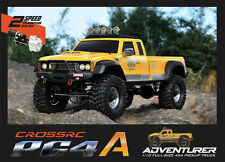 CROSS-RC PG4A 4WD 1/10 Scale Off Road Truck Rock Crawler KIT Like Axial & RC4WD
