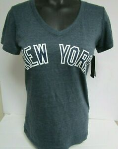 outlet store 19ecf 2e89f Details about DEREK JETER NEW YORK YANKEES ROAD WOMANS SMALL JERSEY FASHION  SHIRT NEW W TAGS