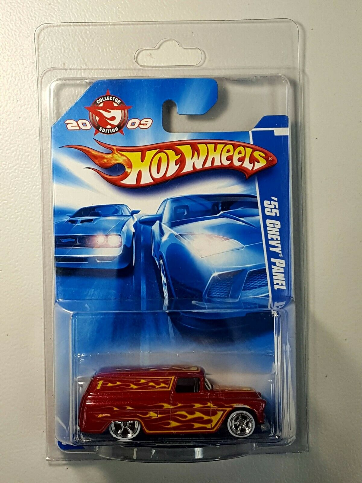 Hot Wheels Collector's Edition 2009 Kmart Mail in '55 Chevy Panel Rubber Tires