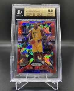 2019-20-NBA-PANINI-PRIZM-RED-ICE-SHAQUILLE-O-039-NEAL-11-BGS-9-5-TRUE-MINT