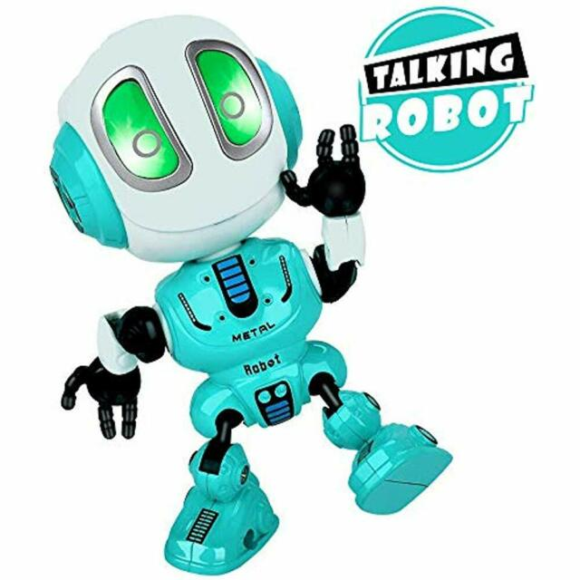 Talking Electronic Learning Toys Robot Kids Toys,Metal Mini Body Record For Boy
