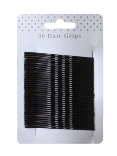 """2.6/"""" Accessories 36 Long Traditional Kirby Hair Grips Slides Clips Pins 6.5cm"""